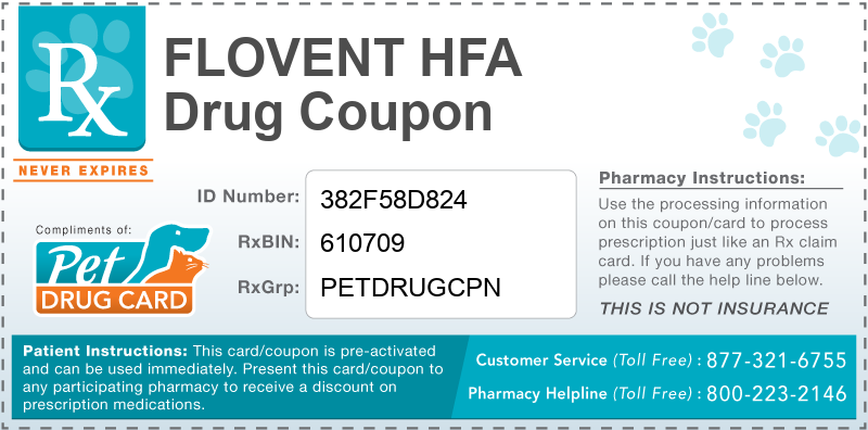 This Flovent HFA coupon provides significant prescription savings at pharmacies nationwide